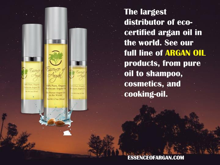 The largest distributor of eco-certified