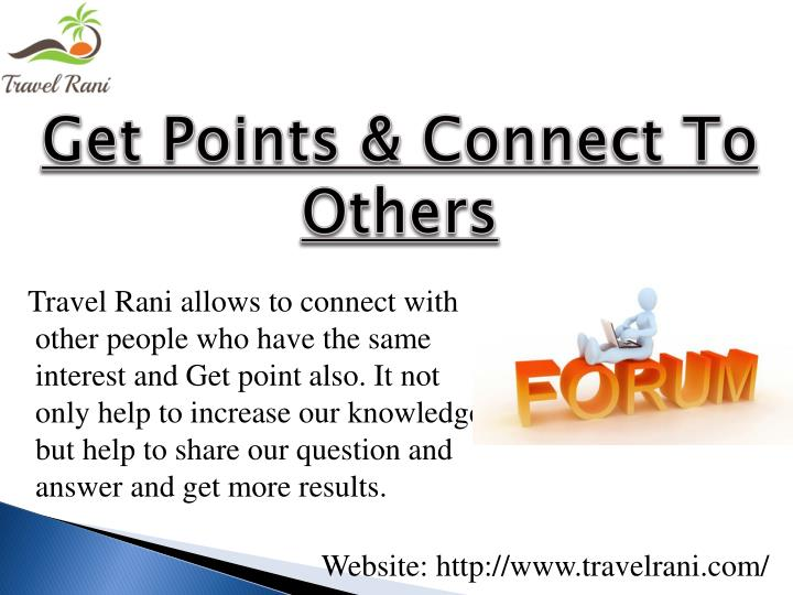 Get Points & Connect To