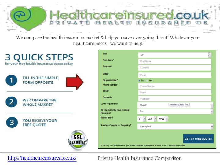 We compare the health insurance market & help you save over going direct! Whatever your healthcar...