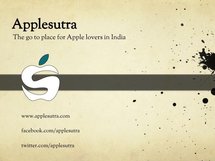 Applesutra