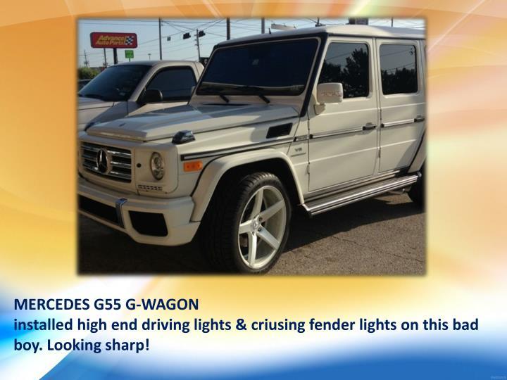 MERCEDES G55 G-WAGON