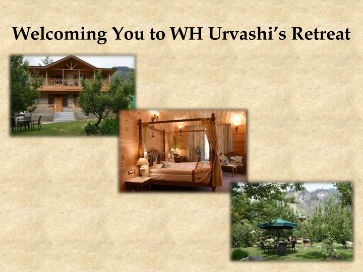 Welcoming you to wh urvashi s retreat