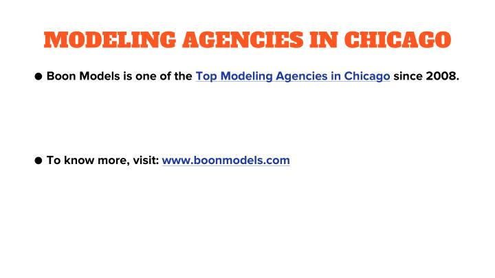 MODELING AGENCIES IN CHICAGO