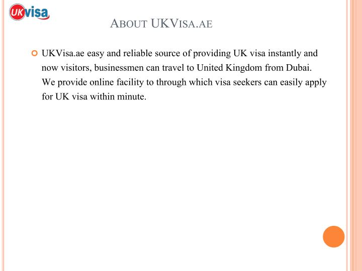About UKVisa.ae
