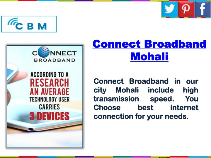 Connect broadband mohali