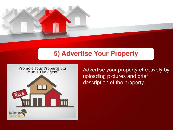 5) Advertise Your Property