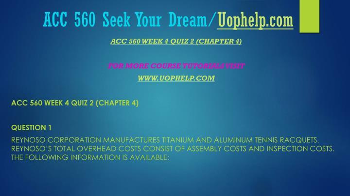 ACC 560