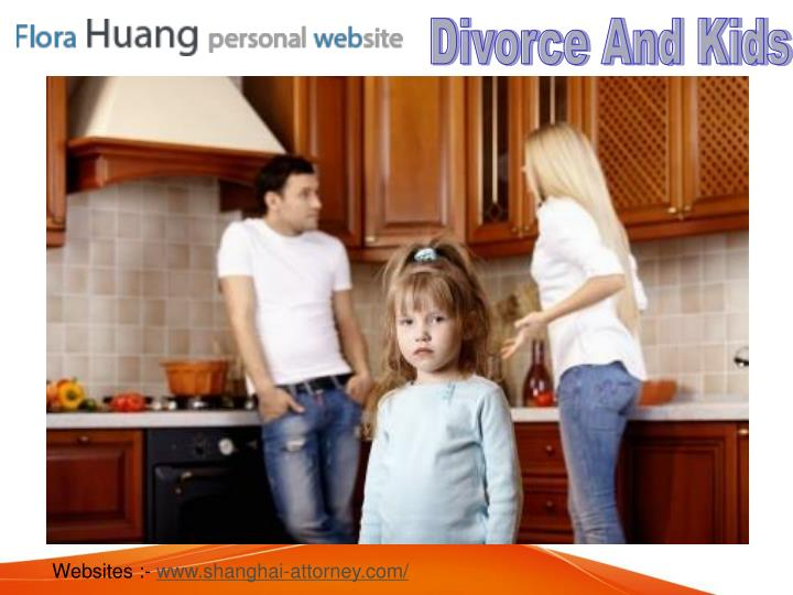 Divorce And Kids‎