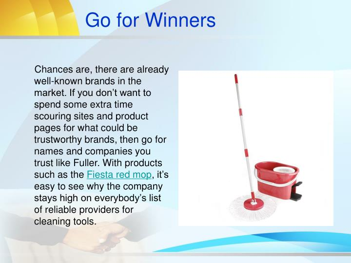 Go for Winners