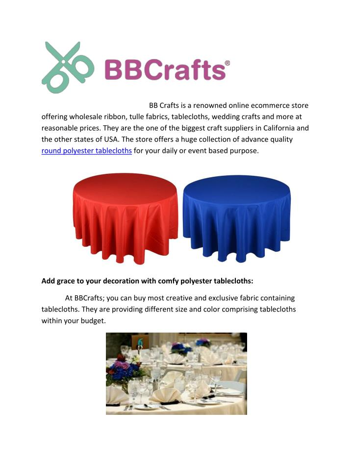 BB Crafts is a renowned online ecommerce store