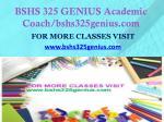 bshs 325 genius academic coach bshs325genius com1