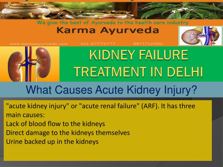 Kidney FaiLURe  treatment in delhi