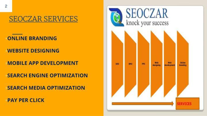 SEOCZAR SERVICES