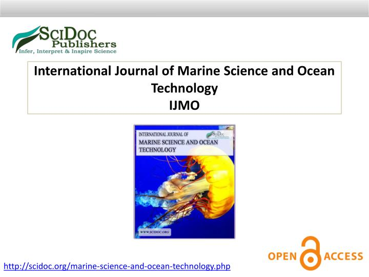 International Journal of Marine Science and Ocean Technology