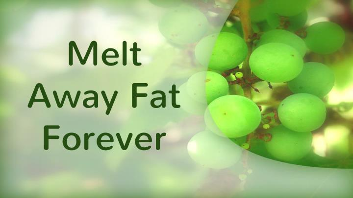 Melt Away Fat Forever