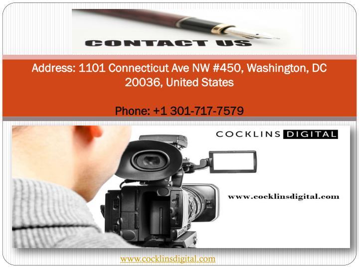 Address: 1101 Connecticut Ave NW #450, Washington, DC