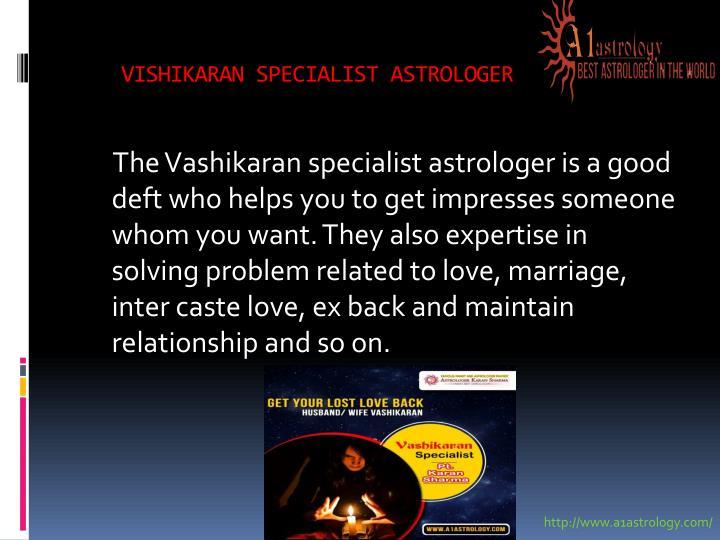 VISHIKARAN SPECIALIST ASTROLOGER
