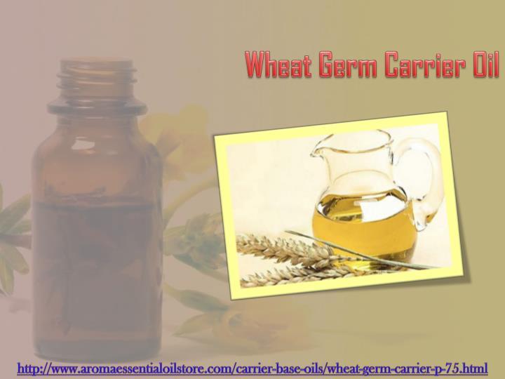 Wheat Germ Carrier Oil
