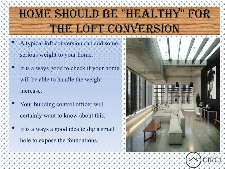 """Home should be """"Healthy"""" for"""