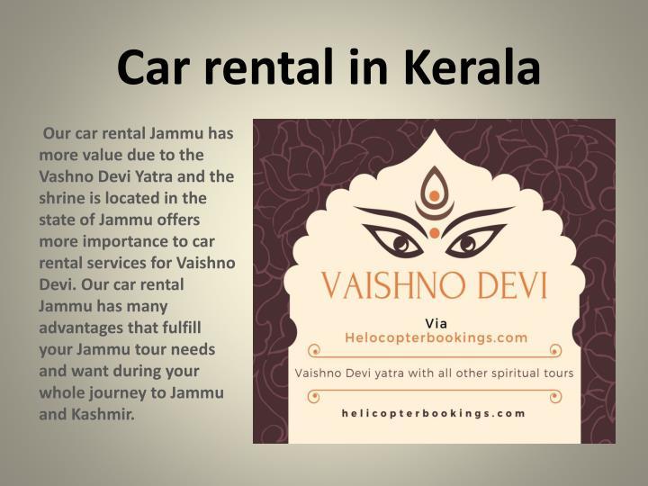 Car rental in