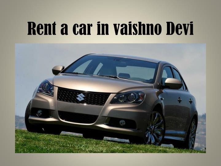 Rent a car in