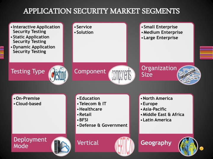 APPLICATION SECURITY MARKET SEGMENTS