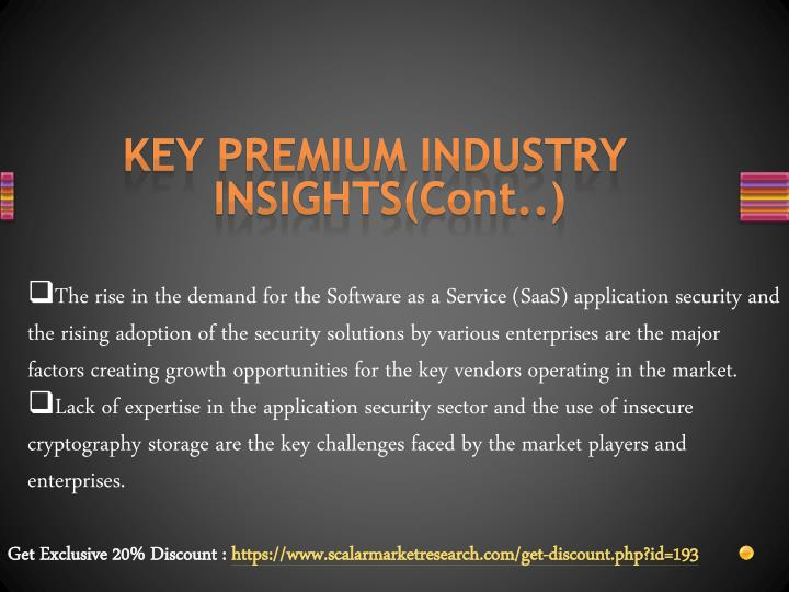 KEY PREMIUM INDUSTRY INSIGHTS(Cont..)