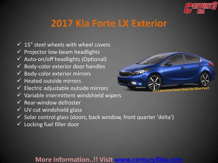 2017 Kia Forte LX Exterior
