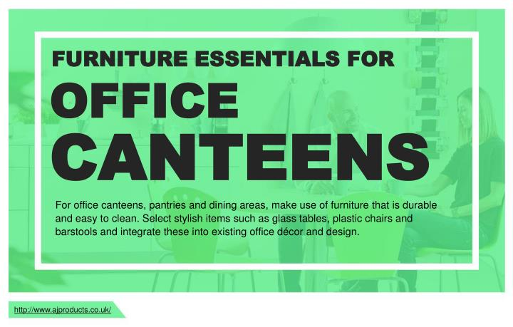 FURNITURE ESSENTIALS FOR