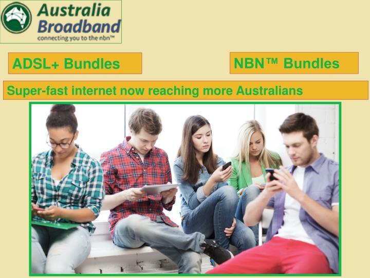 ADSL+ Bundles