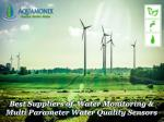 best suppliers of water monitoring multi parameter water quality sensors