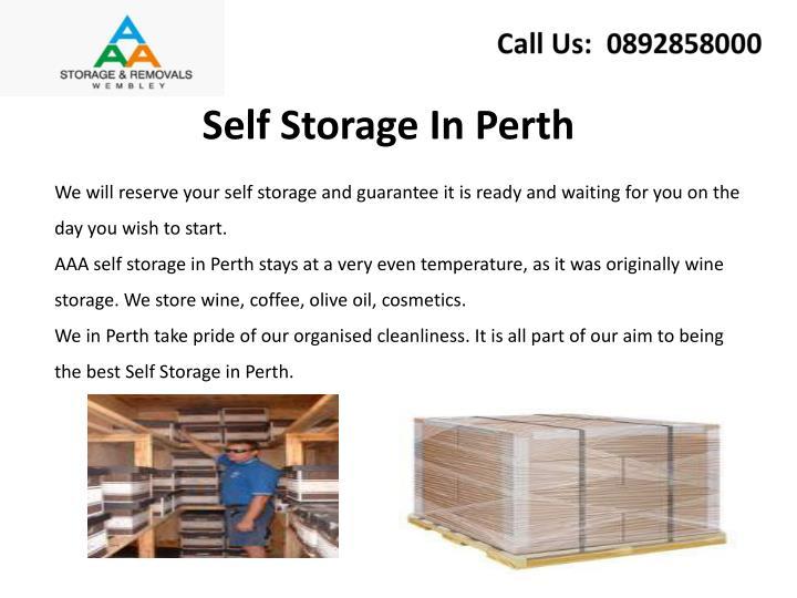 Self Storage In Perth
