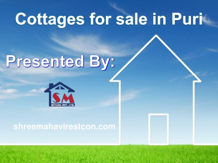 Cottages for sale in Puri