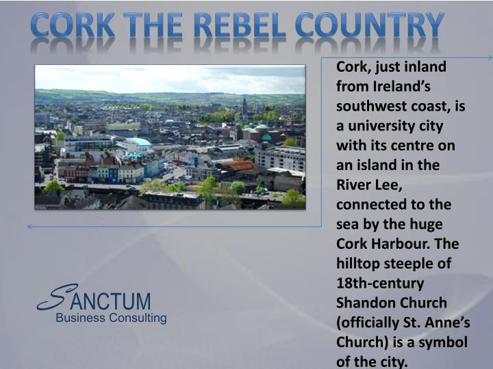 Cork the rebel country
