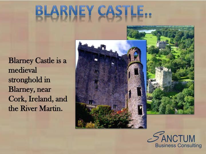 Blarney castle..