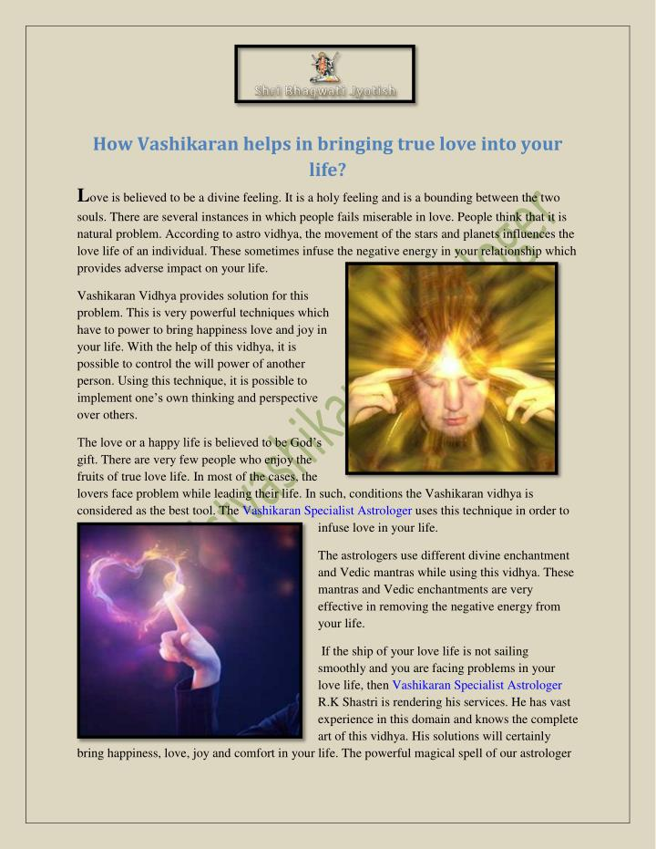 How Vashikaran helps in bringing true love into your