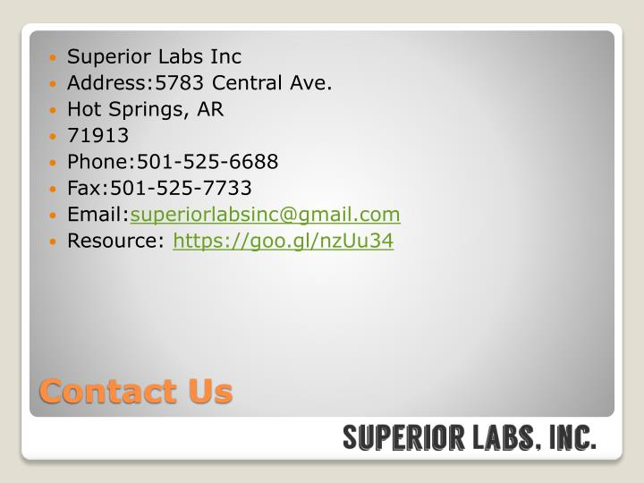 Superior Labs Inc