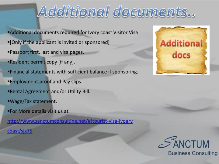 Additional documents..
