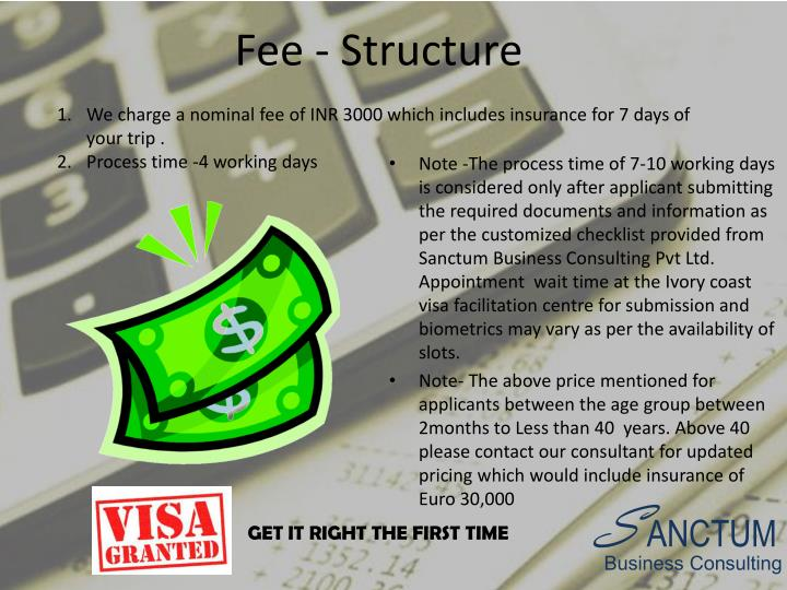 Fee - Structure