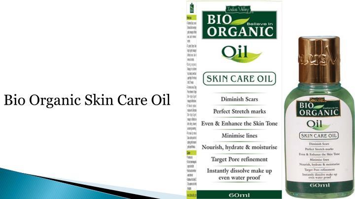 Bio Organic Skin Care Oil