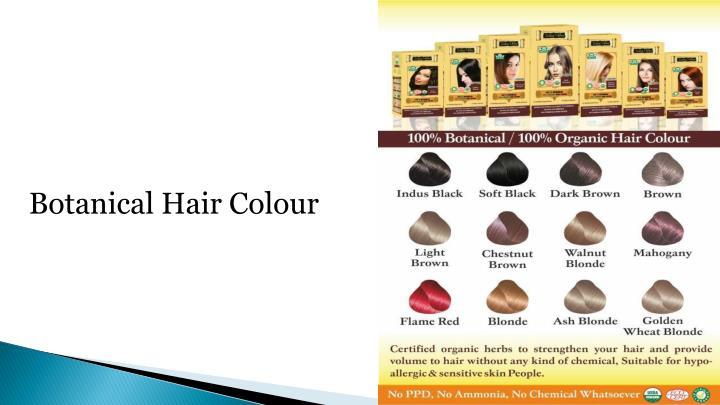 Botanical Hair Colour