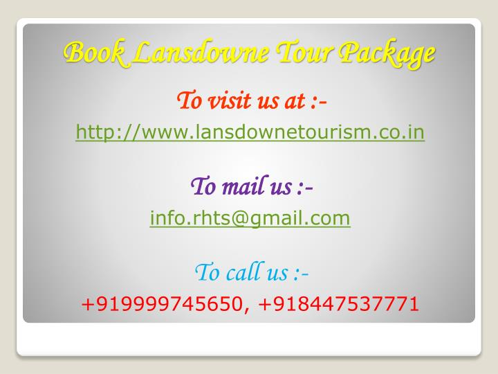 To visit us at :-