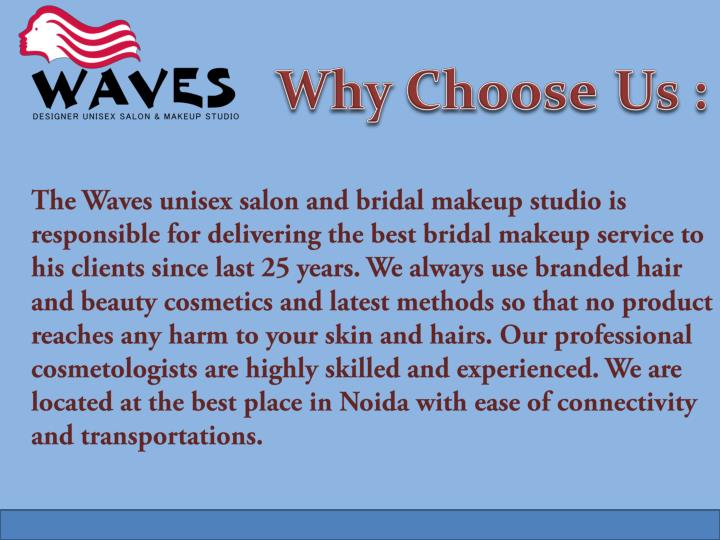 Why Choose 	Us :