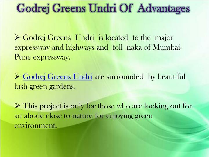 Godrej Greens