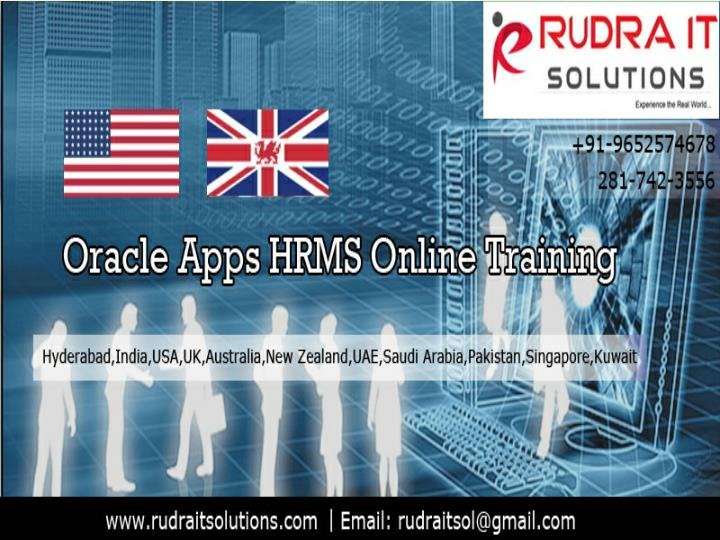 Oracle apps hrms online training oracle apps hrms training rudraitsolutions