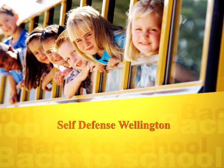 Self defense wellington