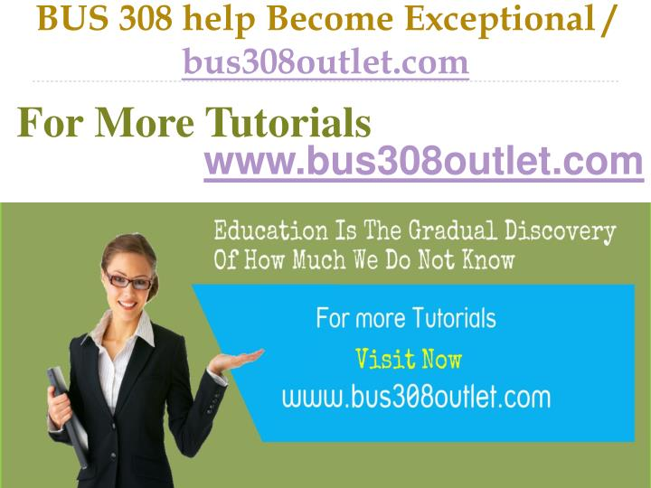 Bus 308 help become exceptional bus308outlet com