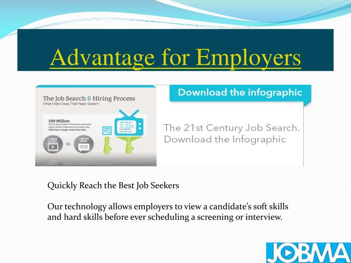 Advantage for employers