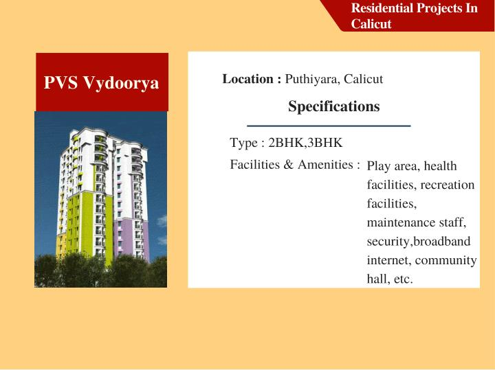 Residential Projects In