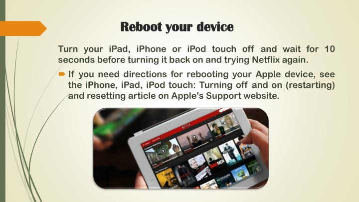 Reboot your